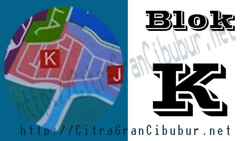 CitraGran Cibubur Blok K mansion garden