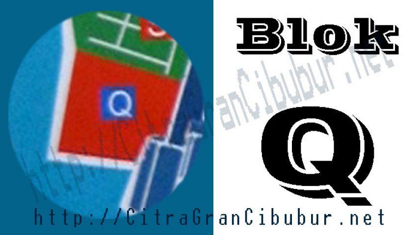 CitraGran Cibubur Blok Q the grassmere