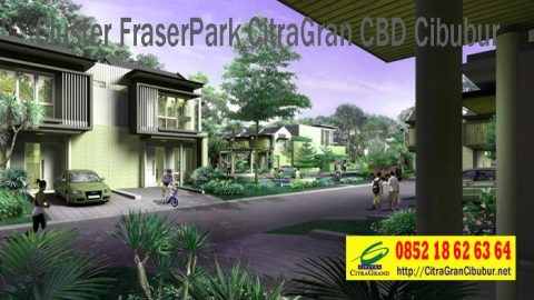 Cluster Fraser Park CitraGran CBD Cibubur
