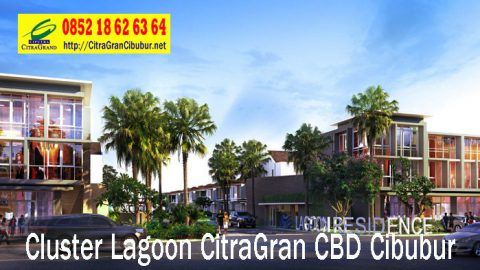 Gerbang Utama Cluster Lagoon Residence CitraGran CBD Cibubur