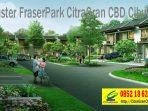 Jalan Lingkungan Asri Cluster FraserPark CitraGran CBD Cibubur