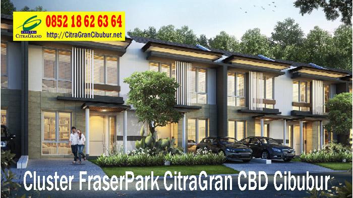 L6 West Fraser Park Cluster CitraGran CBD Cibubur