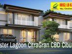 L8 Model Rumah Cluster Lagoon di CitraGran CBD Cibubur