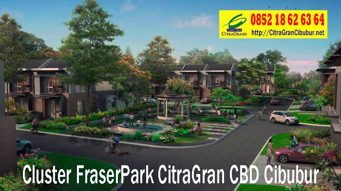 Taman Bermain Cluster Fraser Park CitraGran CBD Cibubur