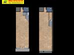 denah-2-lantai Marquette Shophouses CitraGran CBD Cibubur